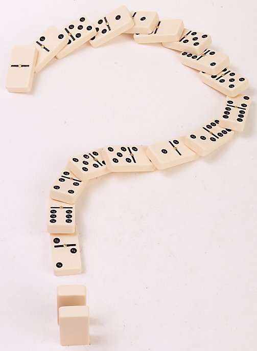 domino question mark